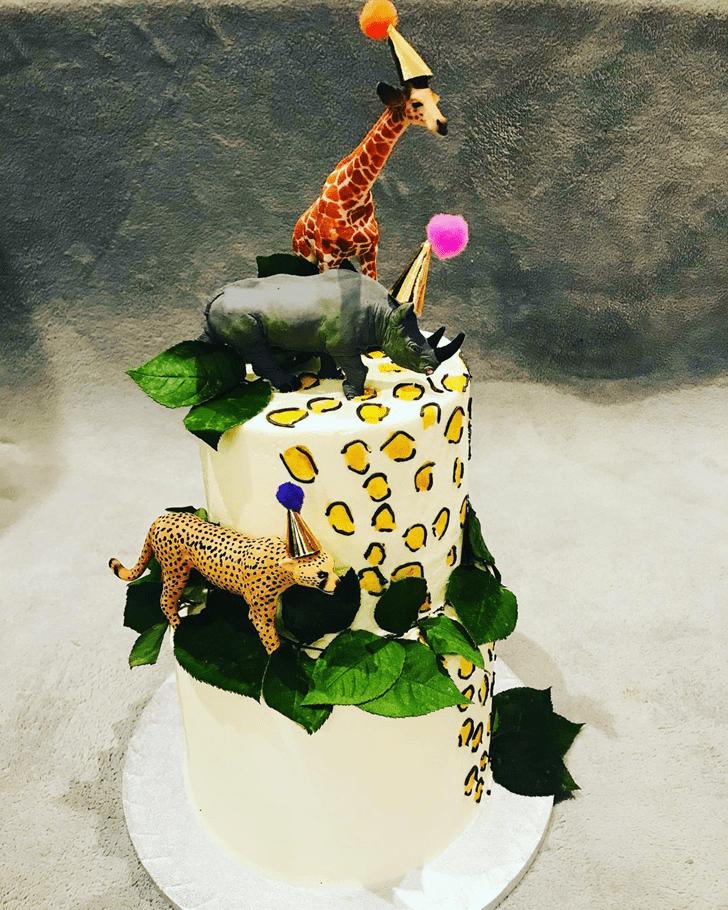 Enthralling Leopard Cake