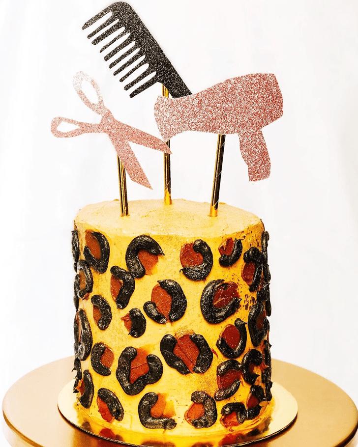 Magnetic Leopard Cake
