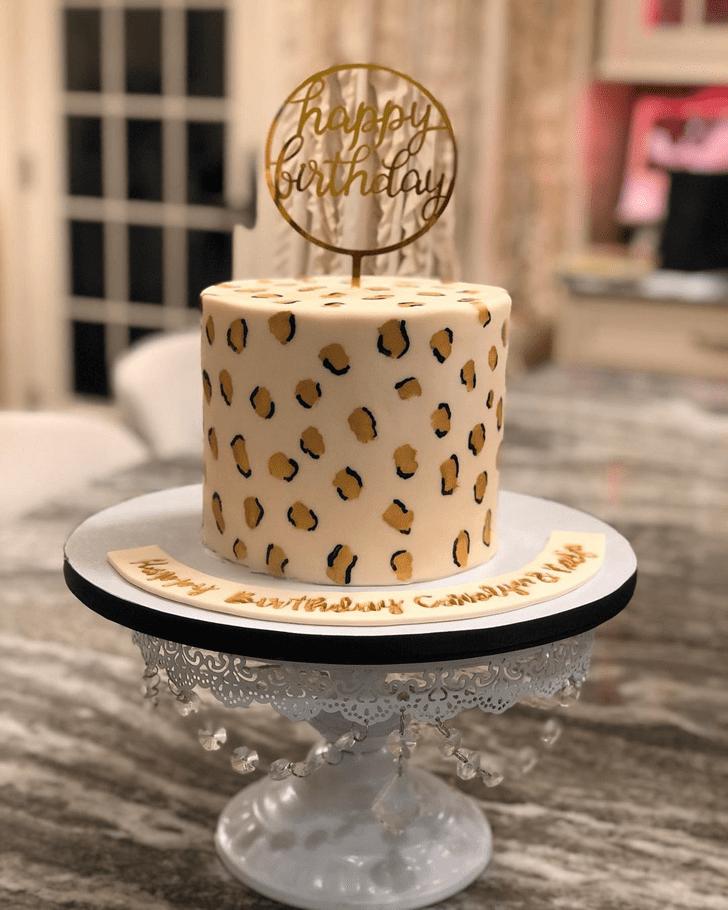 Magnificent Leopard Cake