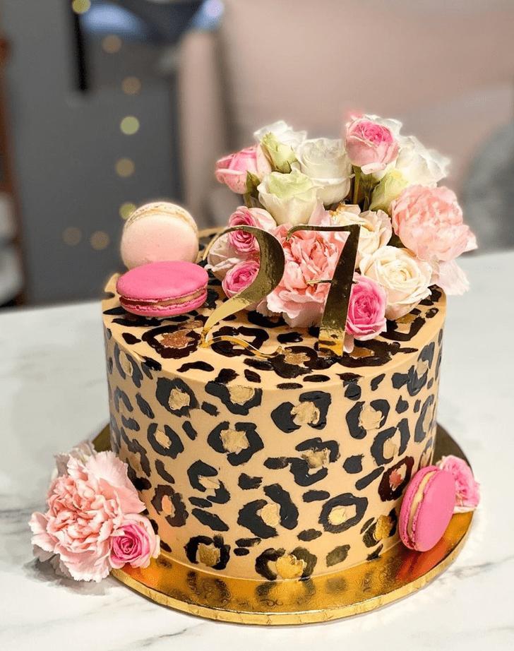 Marvelous Leopard Cake