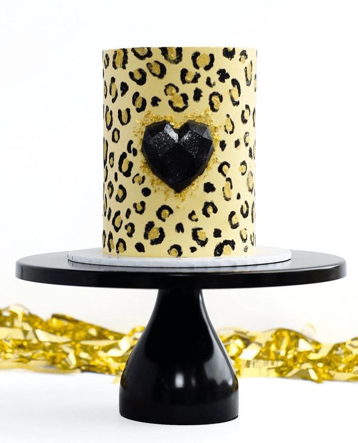 Superb Leopard Cake
