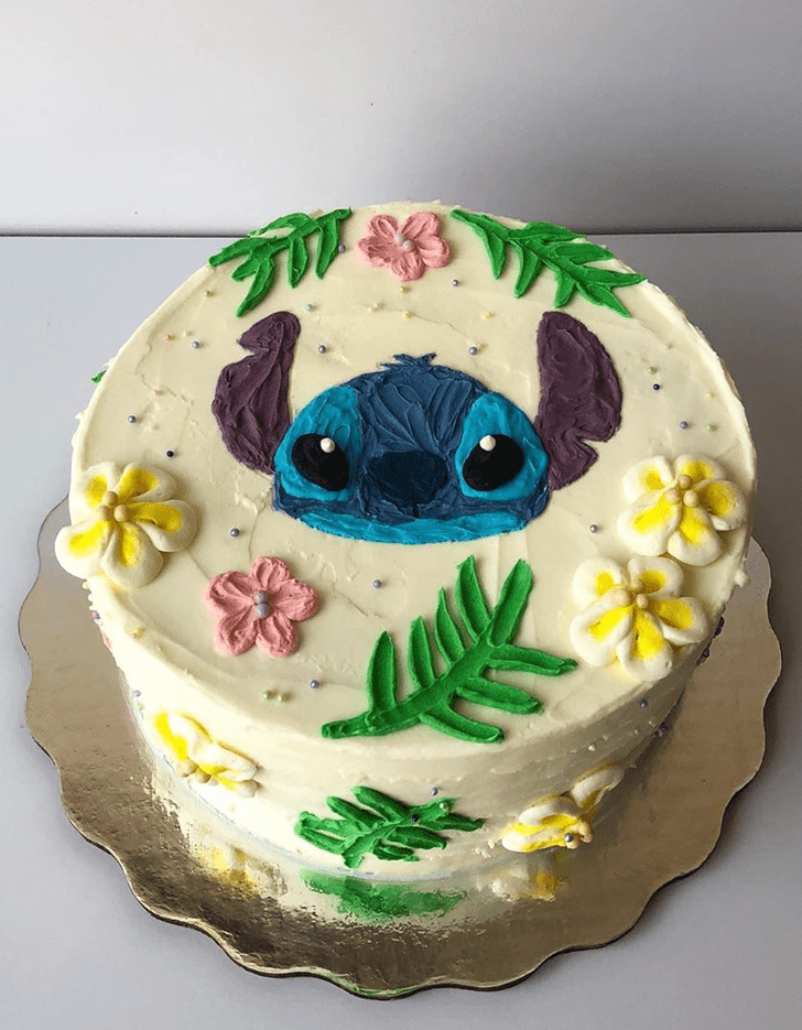 Adorable Lilo and Stitch Cake