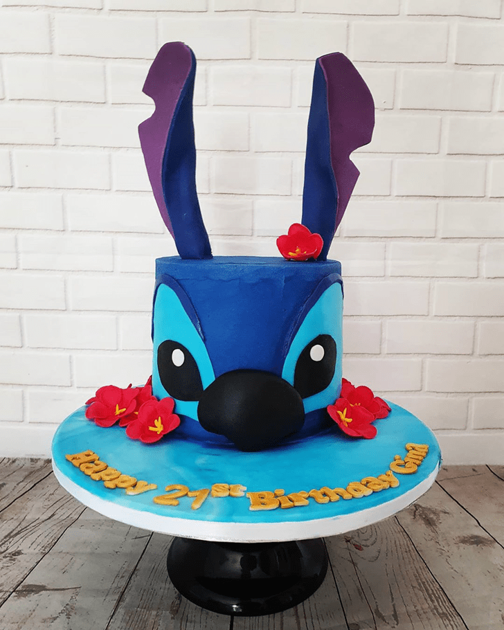Alluring Lilo and Stitch Cake