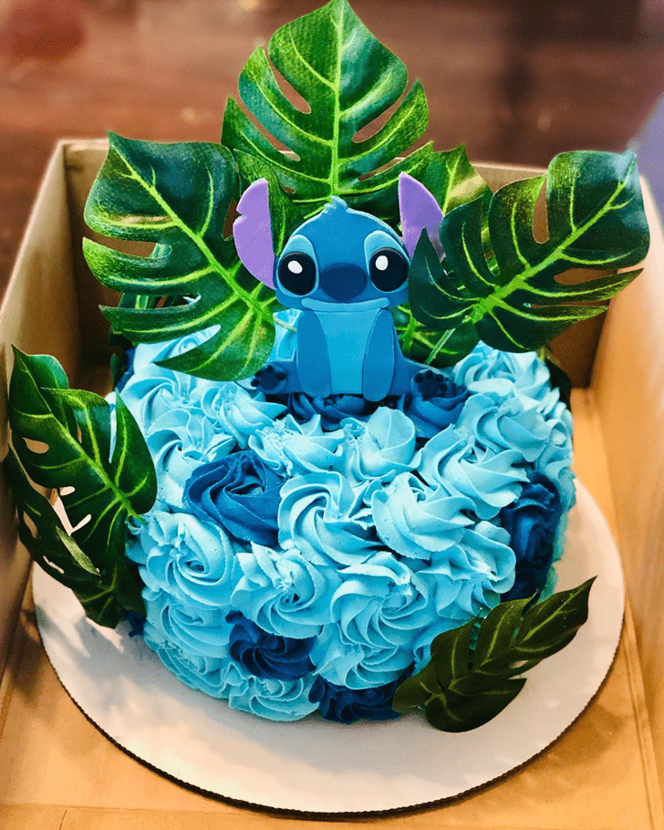 Appealing Lilo and Stitch Cake