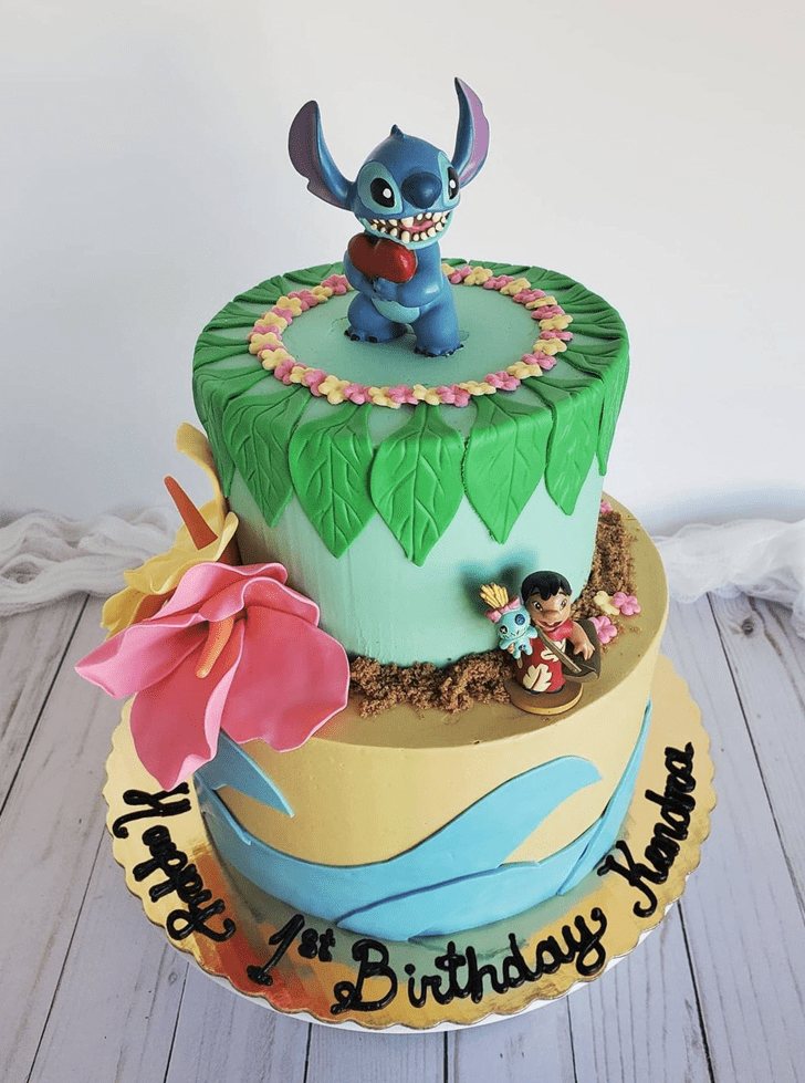 Captivating Lilo and Stitch Cake