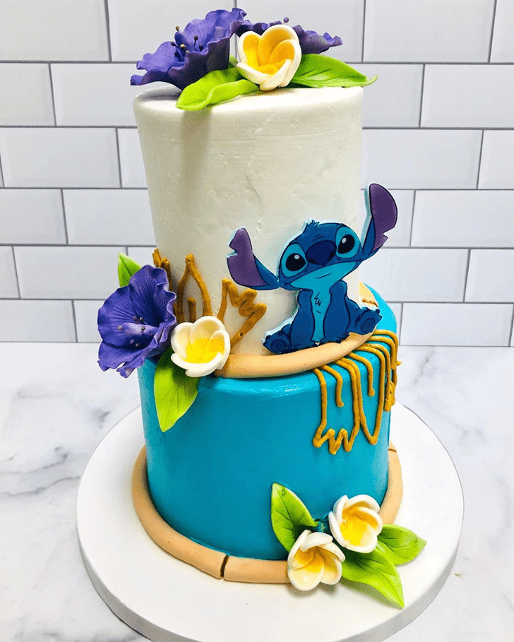 Enticing Lilo and Stitch Cake