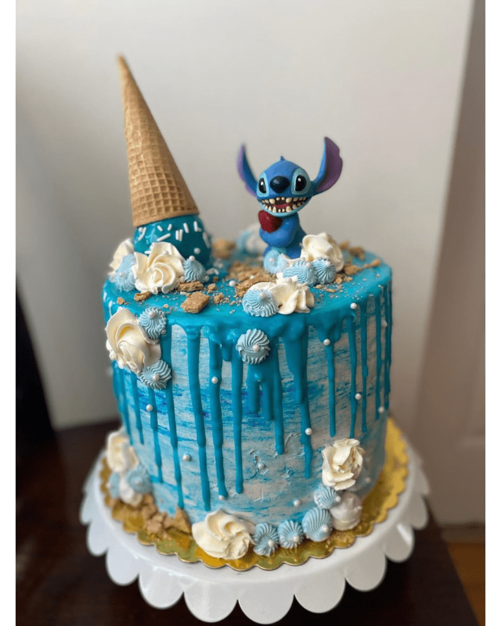 Excellent Lilo and Stitch Cake