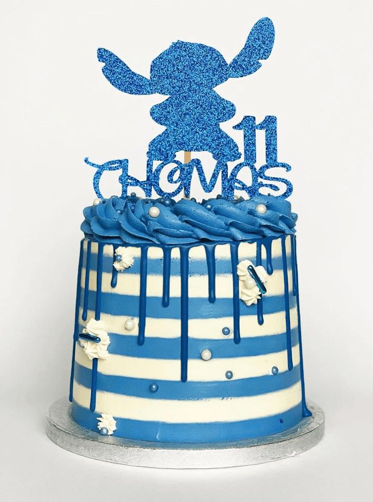 Fair Lilo and Stitch Cake