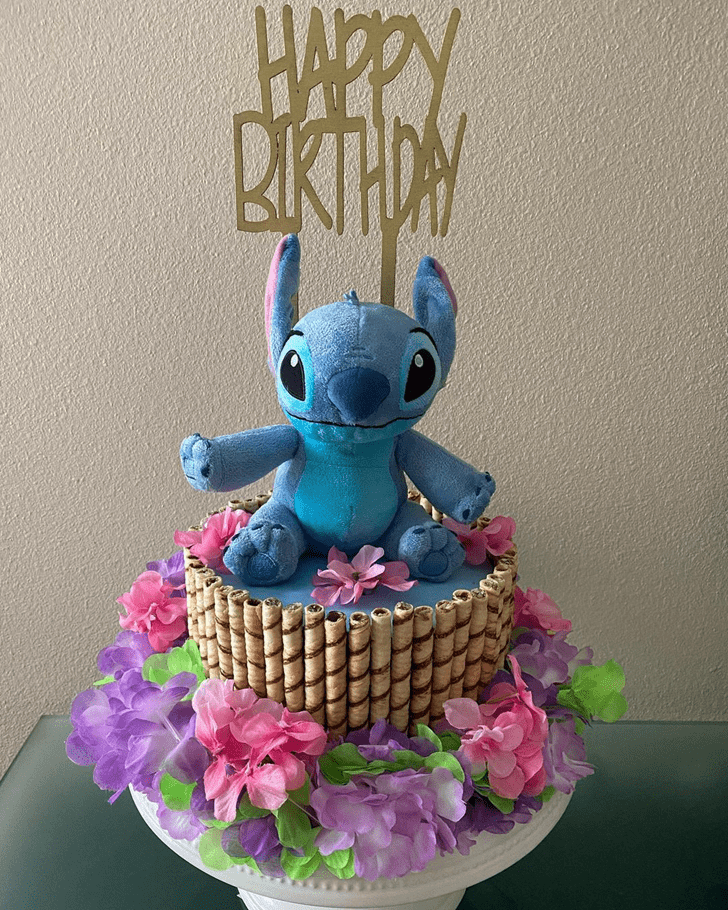 Good Looking Lilo and Stitch Cake
