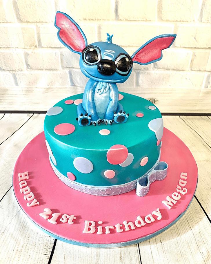 Grand Lilo and Stitch Cake
