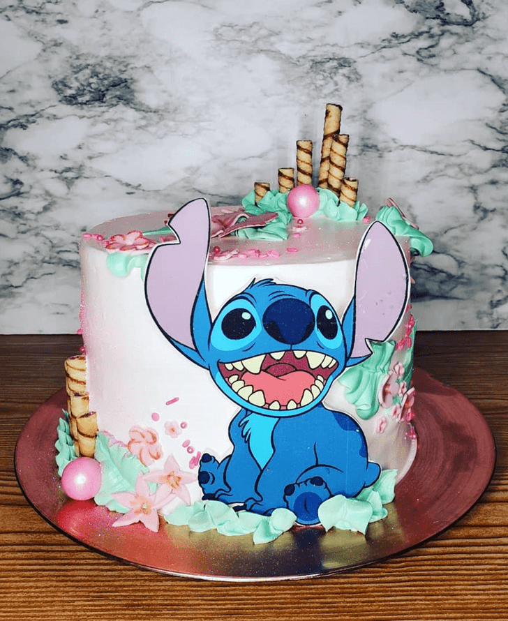 Magnetic Lilo and Stitch Cake