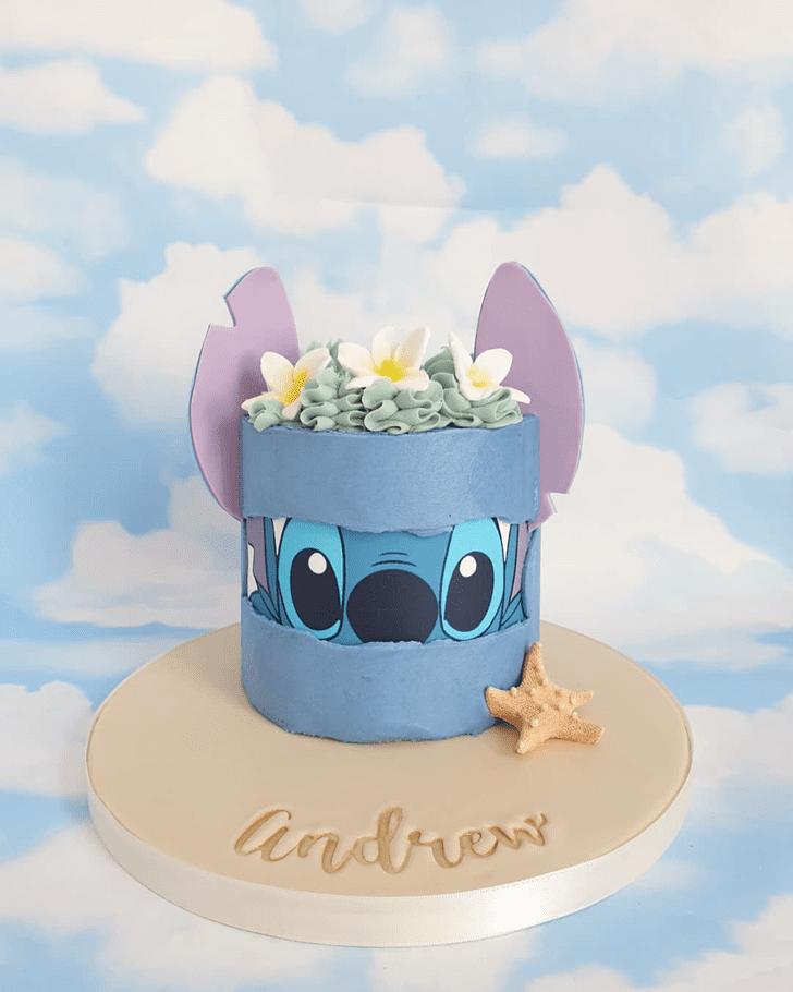 Mesmeric Lilo and Stitch Cake