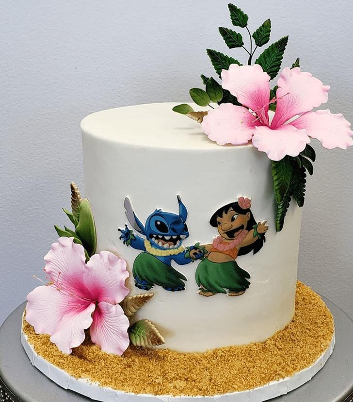 Nice Lilo and Stitch Cake