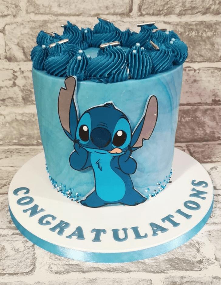 Splendid Lilo and Stitch Cake