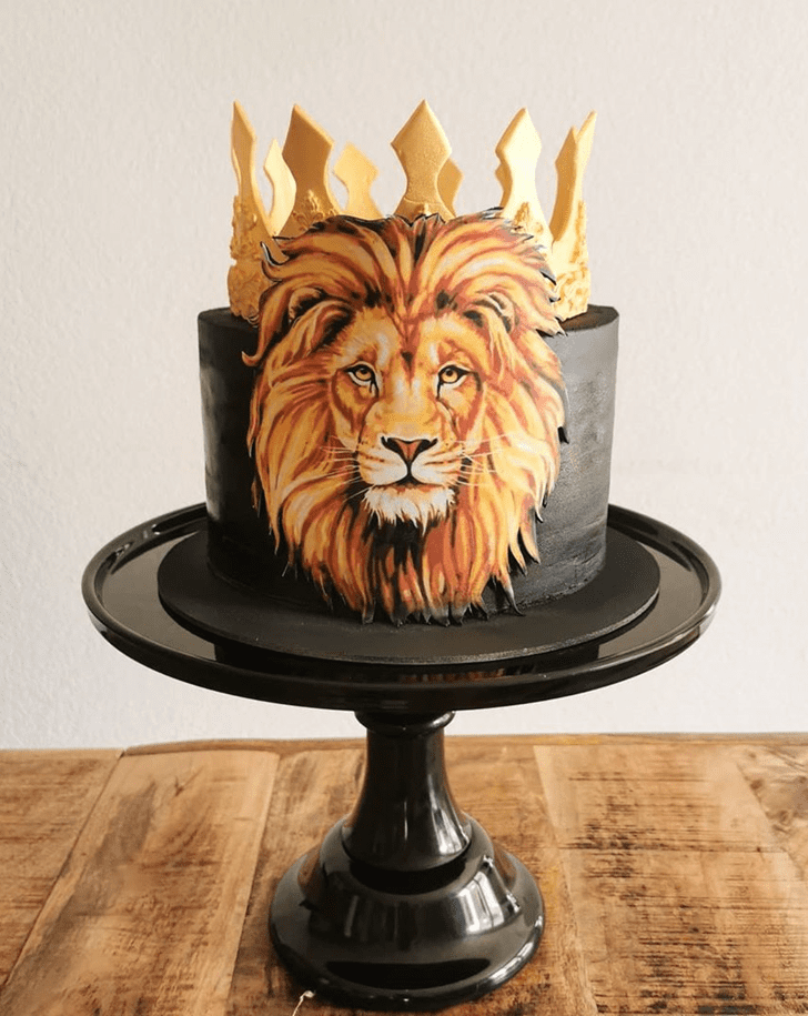 Beauteous Lion Cake
