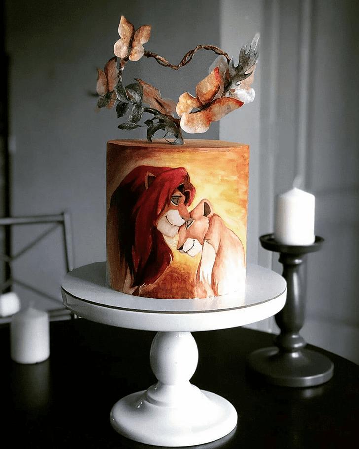 Captivating Lion Cake