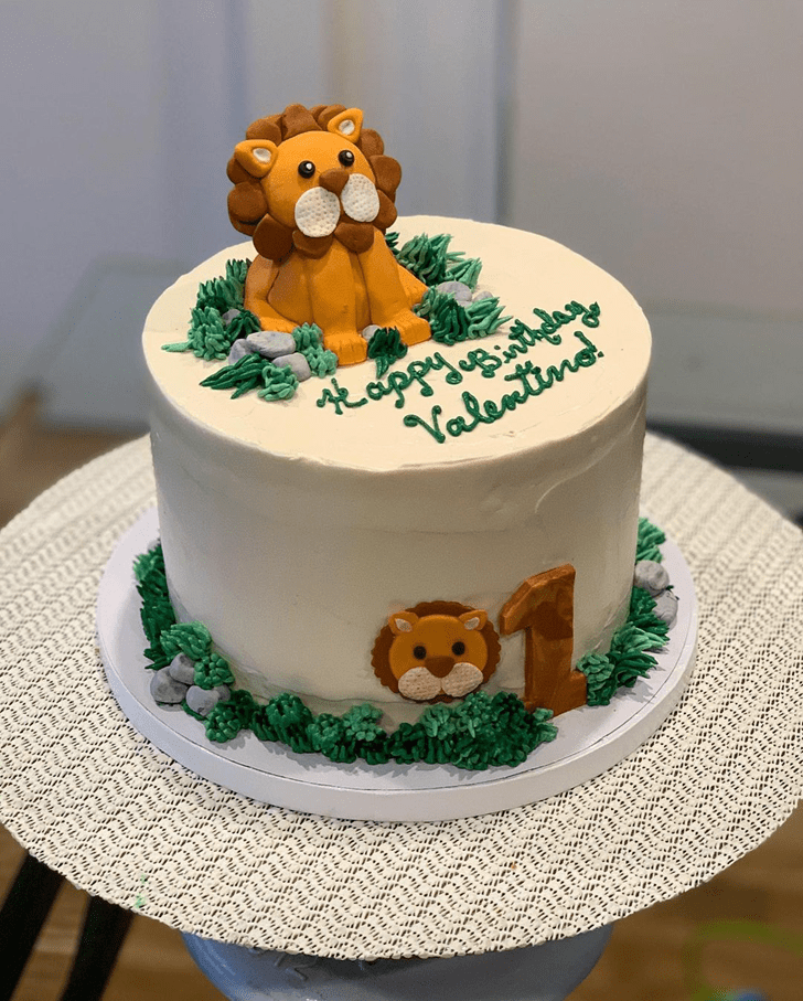 Classy Lion Cake