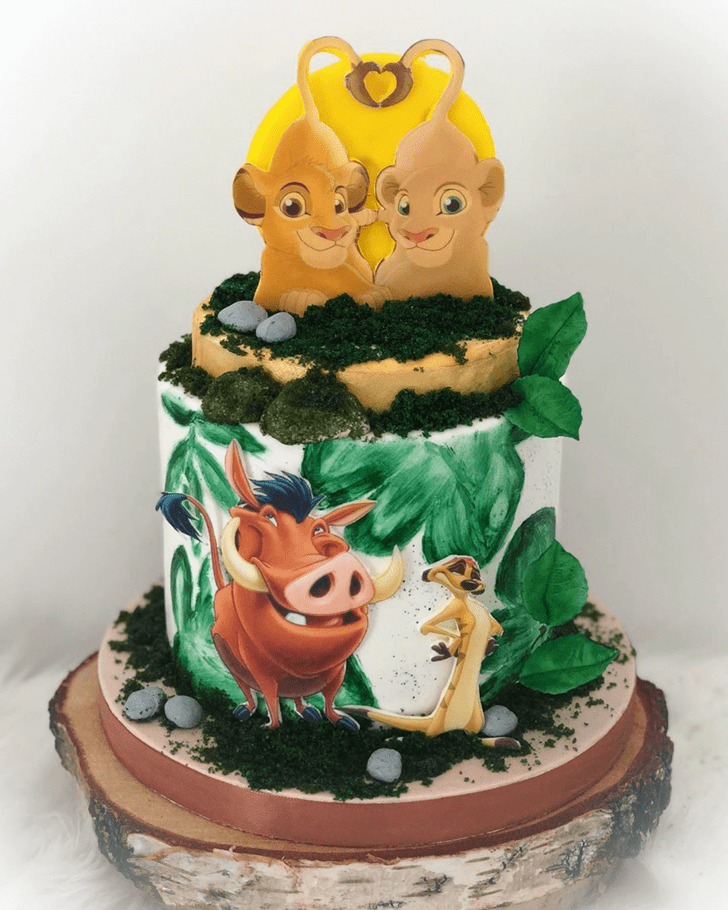 Alluring Lion King Cake