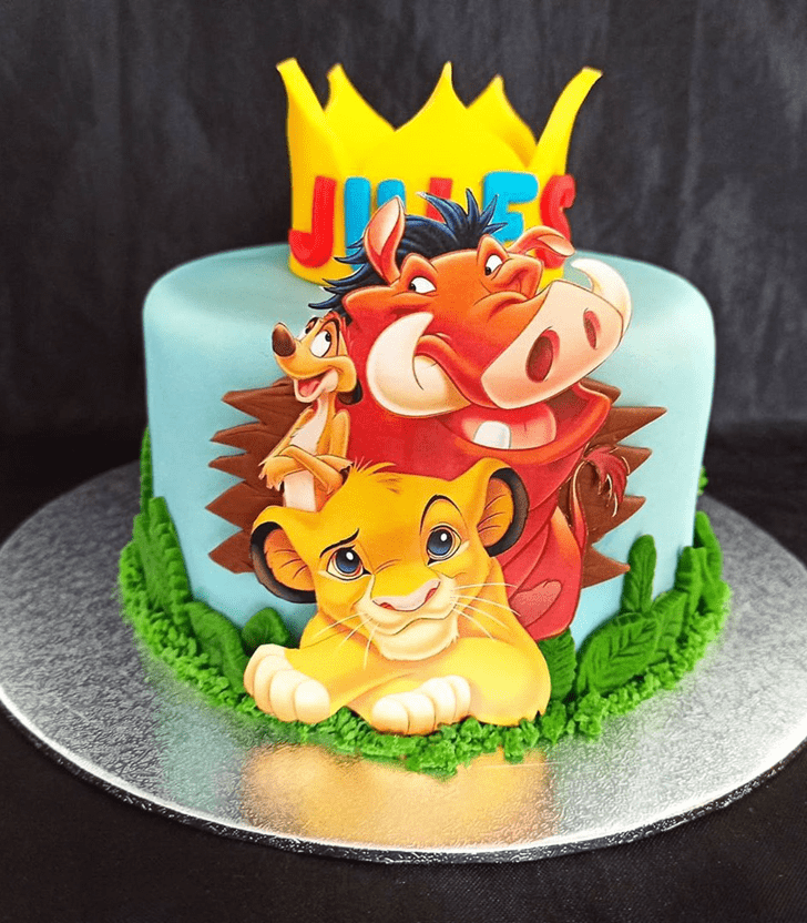 Divine Lion King Cake