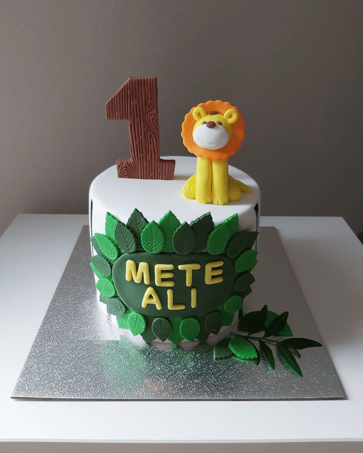 Enthralling Lion King Cake