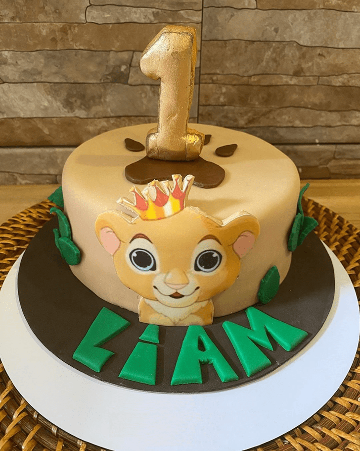 Excellent Lion King Cake