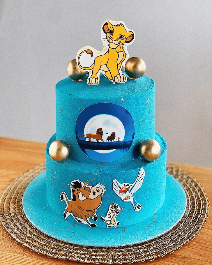 Exquisite Lion King Cake