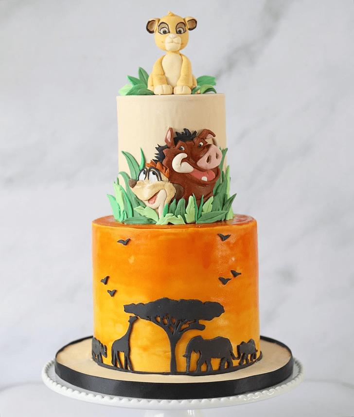 Fair Lion King Cake