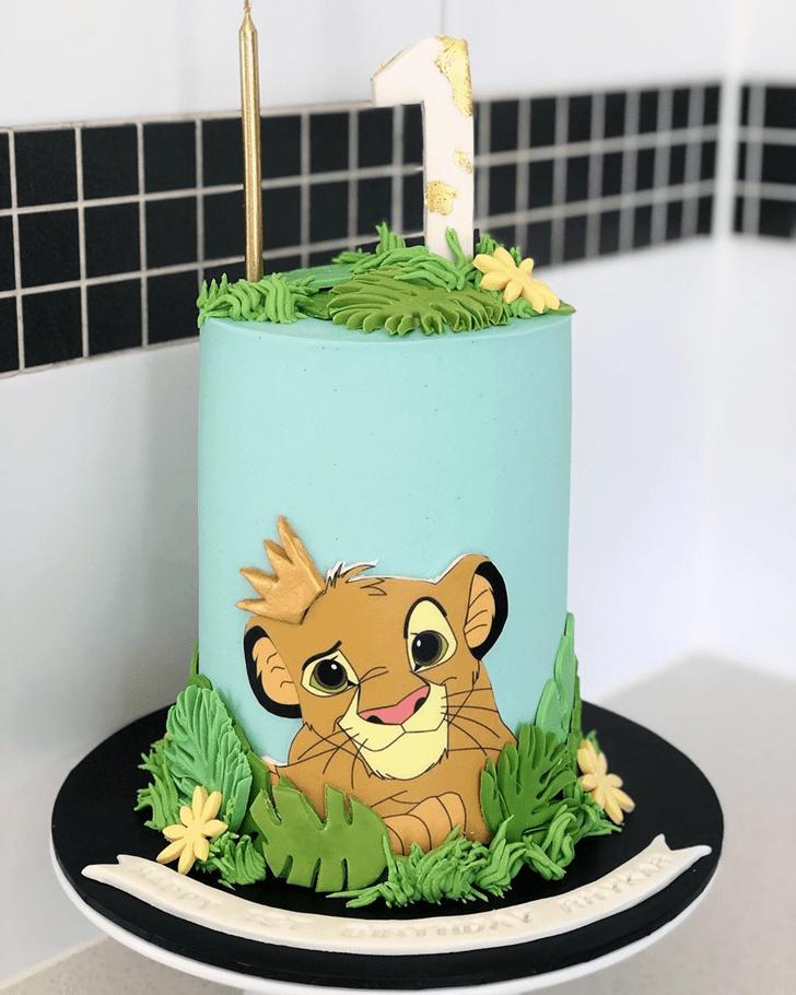 Magnetic Lion King Cake