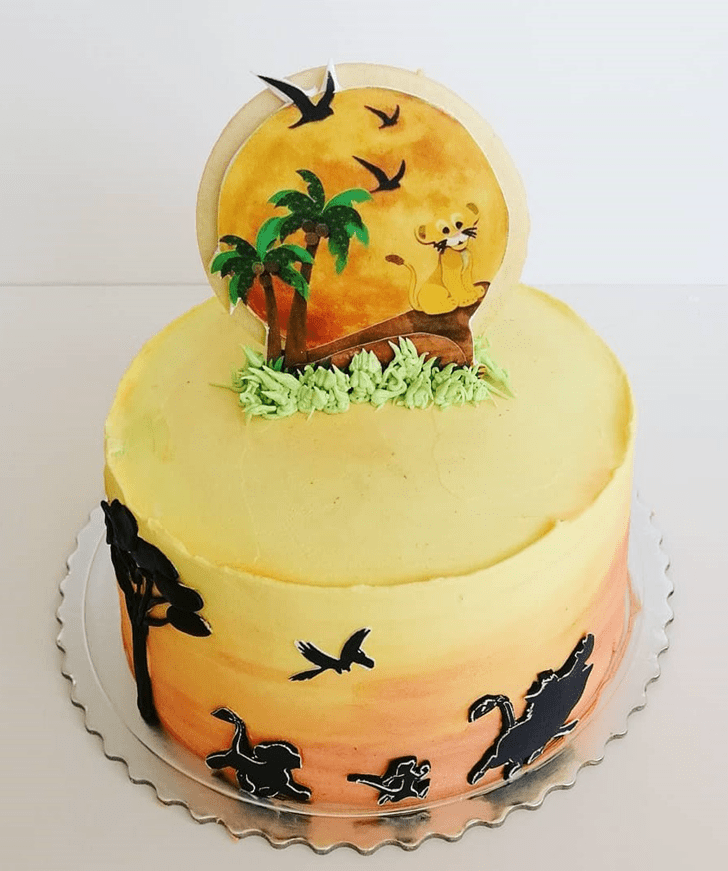 Refined Lion King Cake