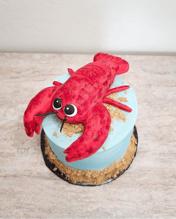 Adorable Lobster Cake