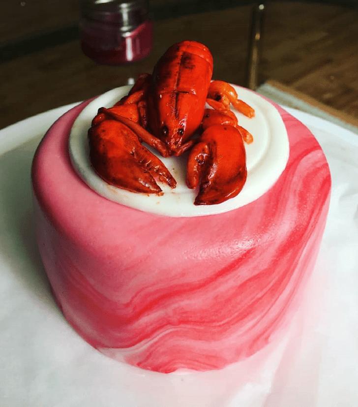 Alluring Lobster Cake