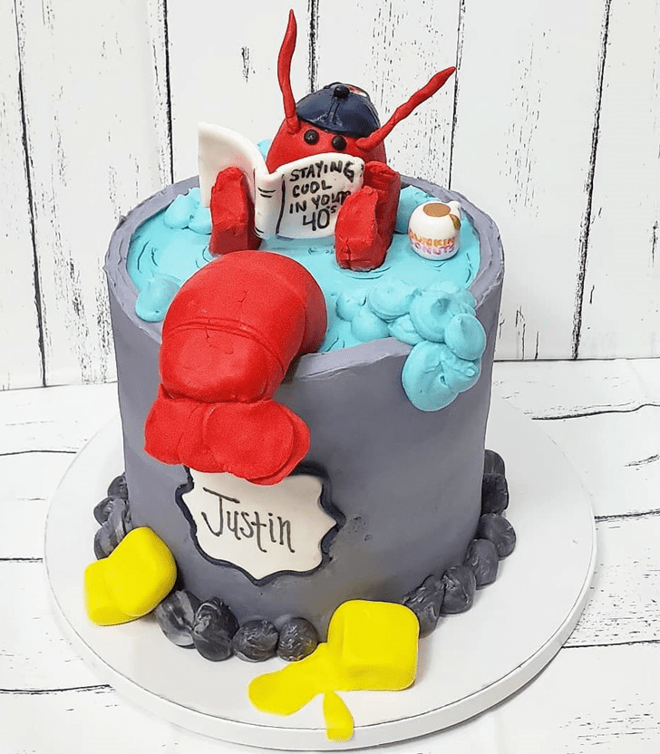 Angelic Lobster Cake