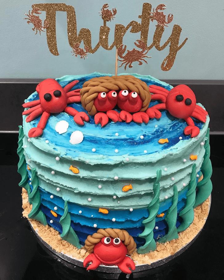 Cute Lobster Cake
