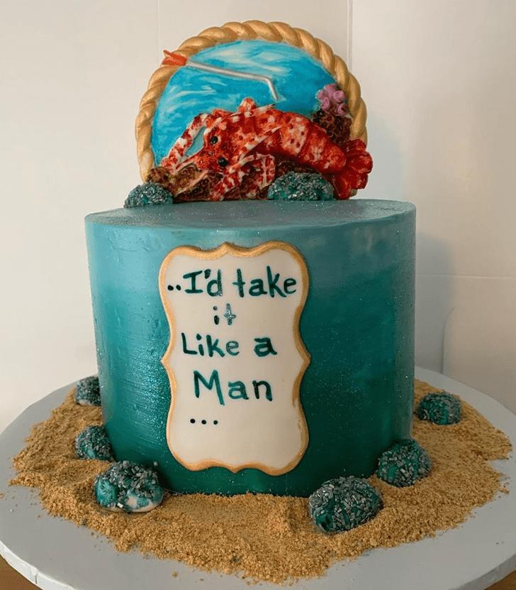 Good Looking Lobster Cake