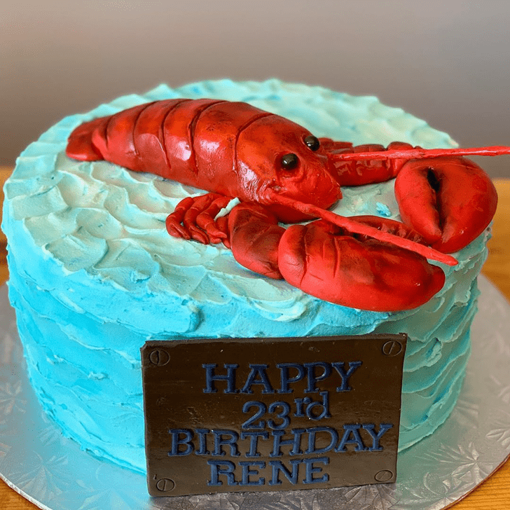 Refined Lobster Cake