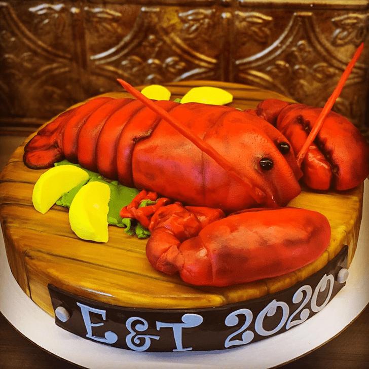Resplendent Lobster Cake