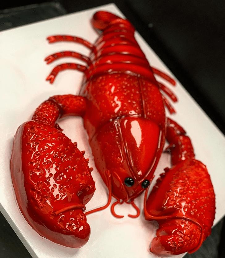 Slightly Lobster Cake