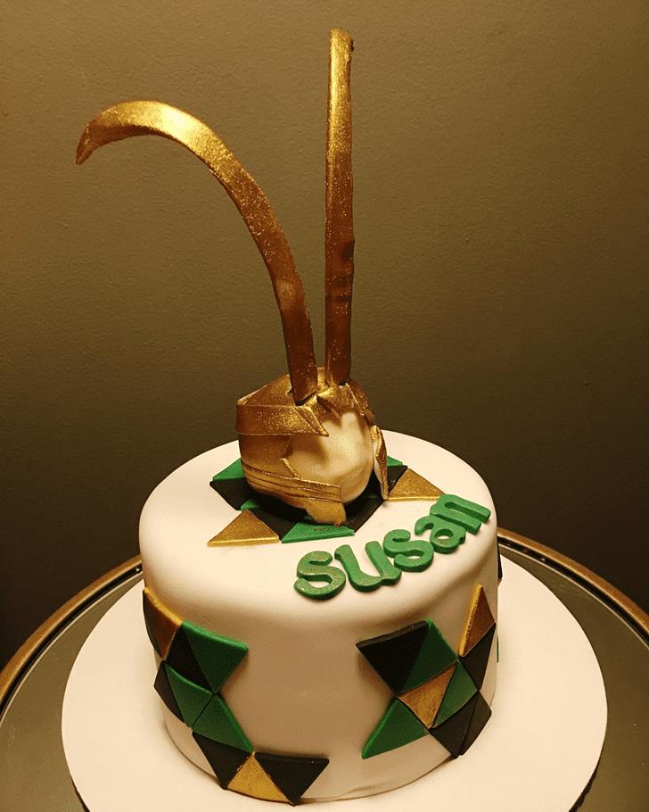 Alluring Loki Cake