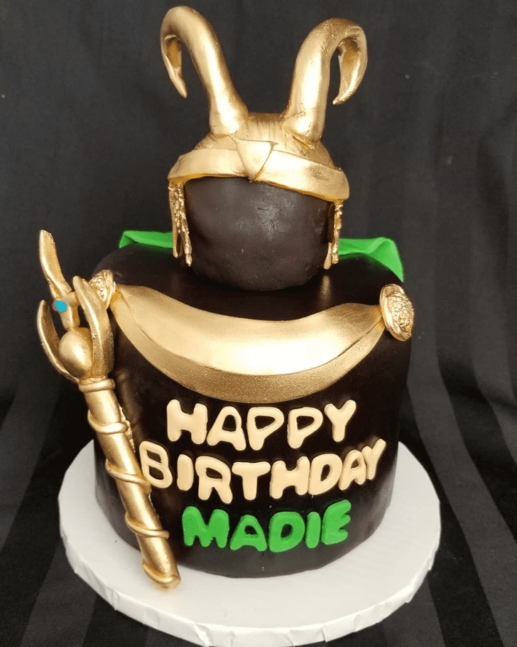 Angelic Loki Cake
