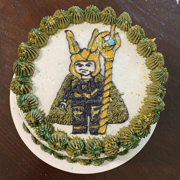 Appealing Loki Cake
