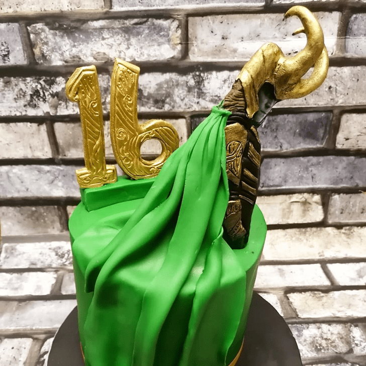 Beauteous Loki Cake