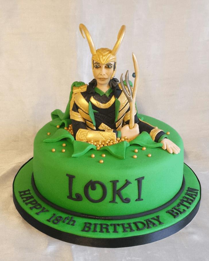 Bewitching Loki Cake