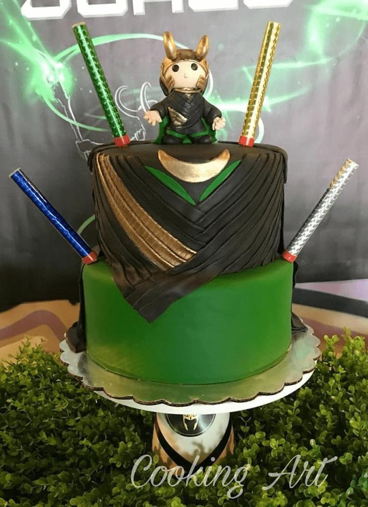 Charming Loki Cake