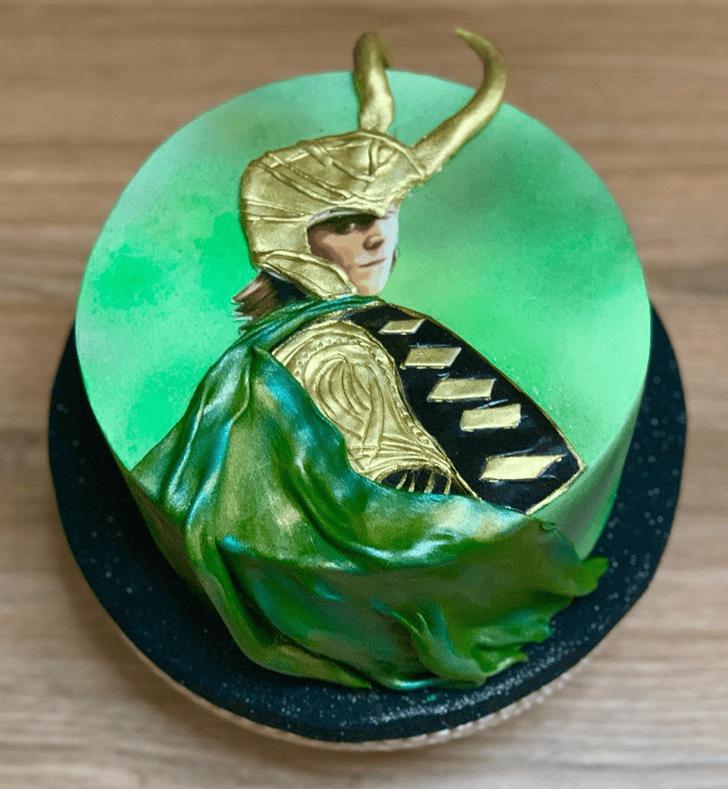 Comely Loki Cake