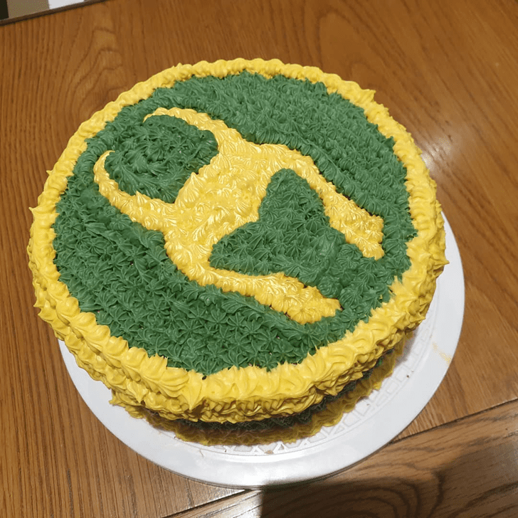Delicate Loki Cake