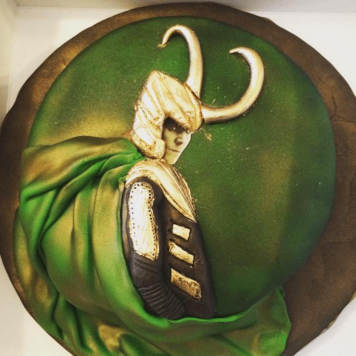 Divine Loki Cake
