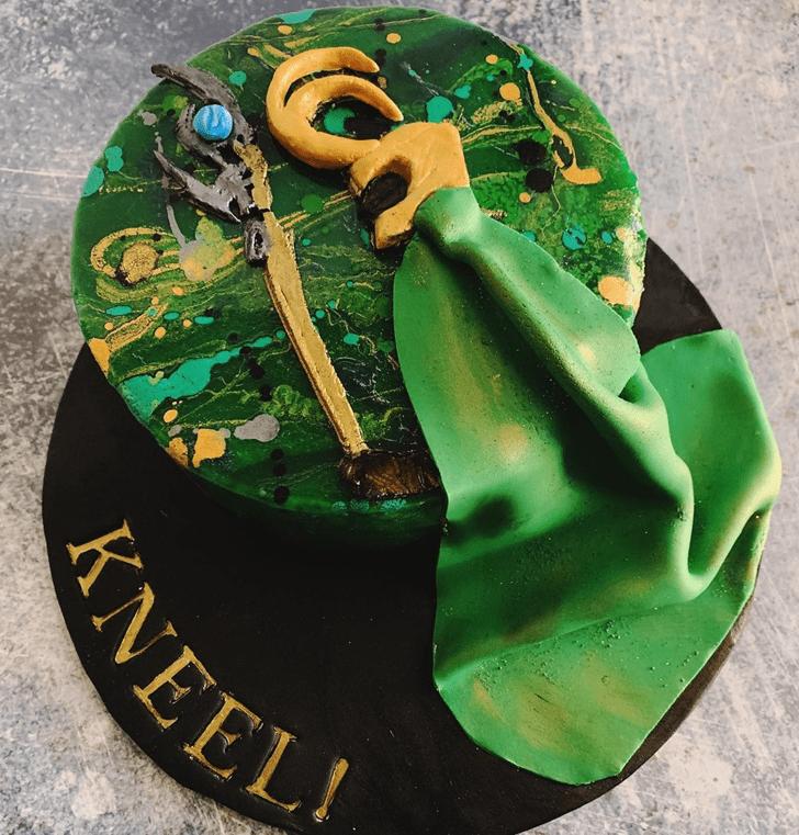 Elegant Loki Cake