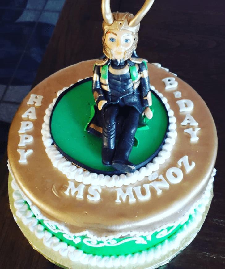Enticing Loki Cake