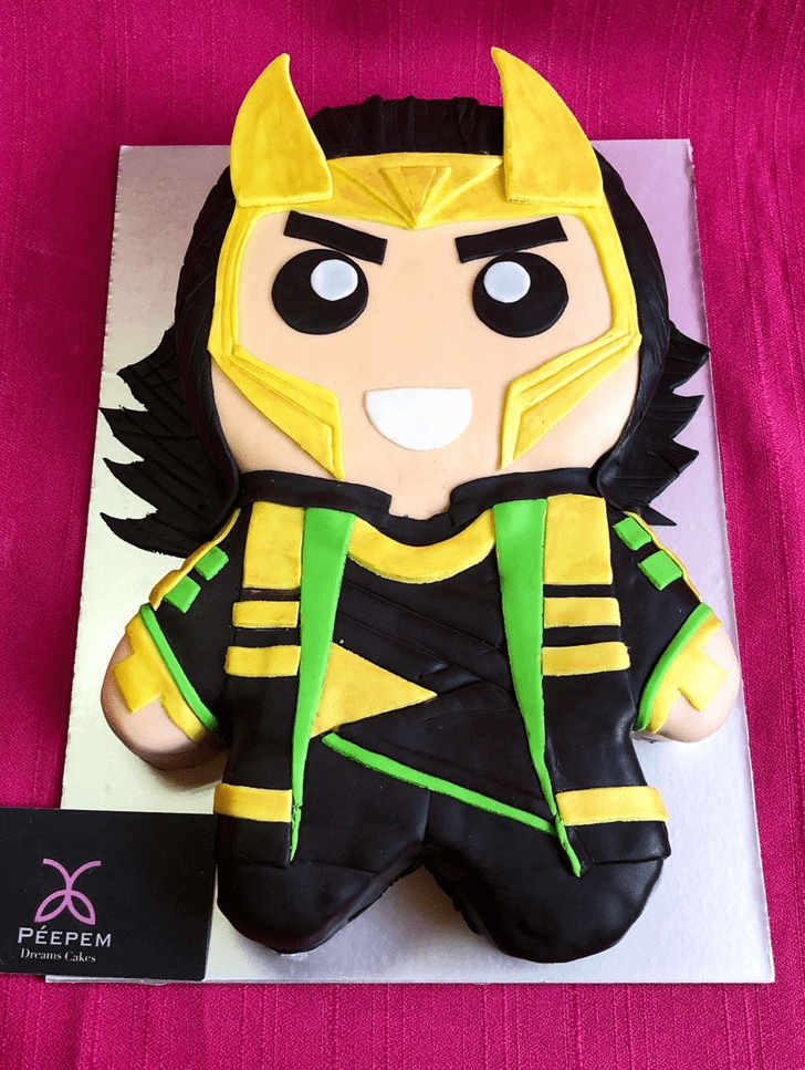 Fascinating Loki Cake