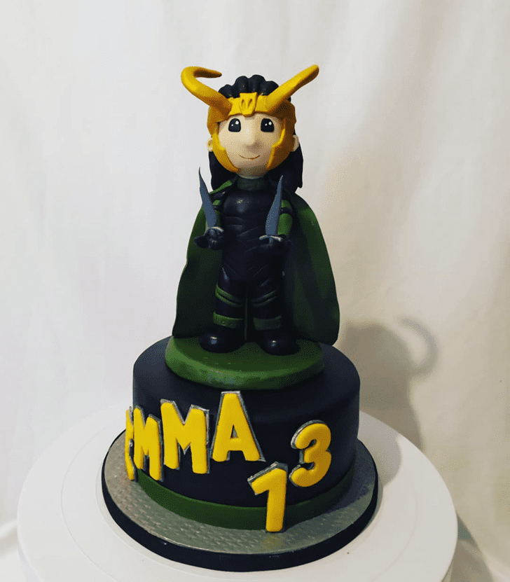 Fetching Loki Cake